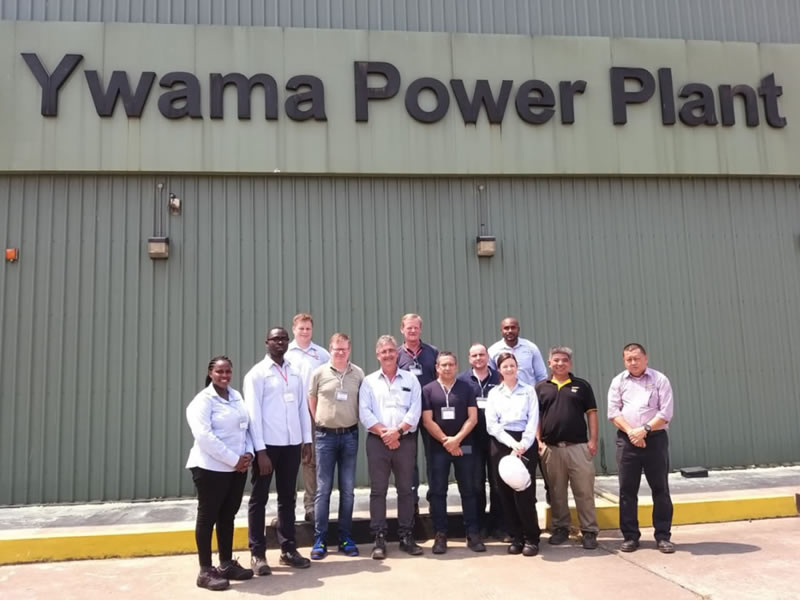 The K56 Technical Team visit to Ywama Power Plant – Myanmar with CES